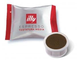 50 capsule caffè illy tostatura media + kit